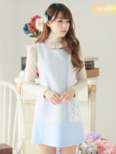 love lace dress $62 #asianicandy #fashion #japanese #indiefashion #asianfashion #kawaii #vintage #korean
