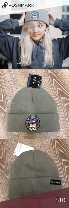 Hot Topic My Neighbor Totoro Beanie My Neighbor Totoro Beanie, brand new with tags. Perfect for the anime lover like myself :) Accessories Hats