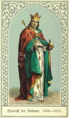 Nel 1311, Federico III re di Sicilia si alleò con Arrigo VII di Lussemburgo, che era calato in Italia per essere eletto Re dei Romani a Milano e imperatore del sacro romano impero a Roma (1312). In quel periodo, Federico intavolò con l'imperatore una trattativa per il fidanzamento di suo figlio, Pietro con la figlia ultimogenita di Arrigo, Beatrice;