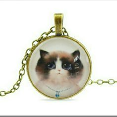 Kitty necklace Such a cute unique cat necklace! Jewelry Necklaces