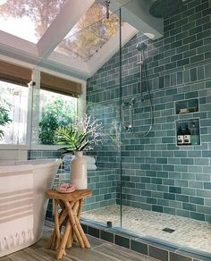 Home Interior Salas .Home Interior Salas Bathroom Colors, Colorful Bathroom, Bathroom Goals, Modern Bathroom, Small Bathroom, Bathroom Ideas, Paris Bathroom, Bohemian Bathroom, Zen Bathroom