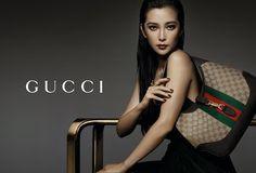 Chinese actress Li Bingbing stars in Gucci's new accessories campaign