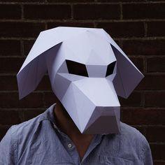 Beagle Dog Mask - Wintercroft  - 1