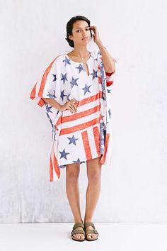 Fresco Towels Americana Poncho Towel. perfect for post-beach!
