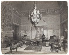Cornelius Vanderbilt II House Moorish smoking room