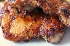 Easy Chicken Recipe: Spicy Honey Glazed Chicken - foodista.com