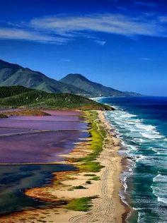 See the picz: La Salinas, Isle De Margarita, Venezuela.