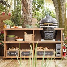 "1,318 Likes, 34 Comments - The Home Depot (@homedepot) on Instagram: ""This spring, build the outdoor kitchen of your dreams with this #DIY grill station. Visit our blog…"""