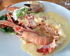 Wandered upon Eithne's by the Sea restaurant in Mullaghmore, County Sligo for some fresh lobsters Seaside Restaurant, Fresh Lobster, Wild Atlantic Way, Lobsters, Shrimp, Seafood, Foods, Sea Food, Food Food