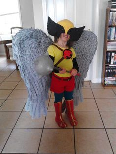 This Mini Hawkgirl Is Ready To Fly [Cosplay]