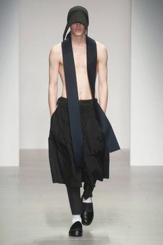 """Central Saint Martins F/W 2014 """"Ready-to-Wear"""" Collection ..something for the guys too"""