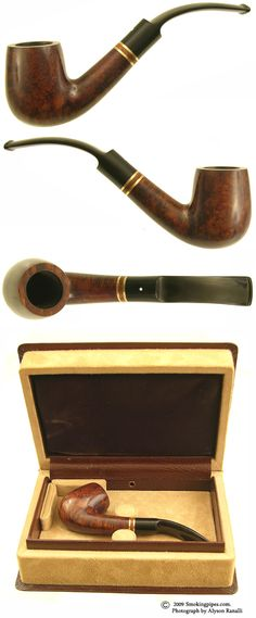 Dunhill Bruyere 1985 Christmas Pipe (No. 96) (with box) (4202)