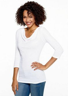 Cowl Neck Tunic - View All Tops - Tops - Clothing - Alloy Apparel