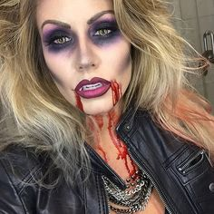 LOVE the eye makeup! #morphehalloween Instagram photos | Websta