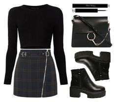 """""""Simple but Classy"""" by baludna ❤ liked on Polyvore featuring Topshop, Cushnie Et Ochs, Chloé, Christian Dior, women's clothing, women, female, woman, misses and juniors"""