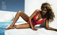 Kate Upton by Miguel Reveriego for Vogue Spain July 2012