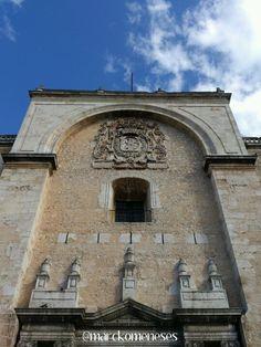 Fachada de la Catedral de Mérida, Yucatán.