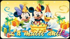 Mickey and Minnie Mouse Wallpapers ·① WallpaperTag Cool Happy Birthday Images, Birthday Wishes And Images, Birthday Wishes Messages, Happy Birthday Fun, Happy Birthday Quotes, Late Birthday, Happy Birthday Mickey Mouse, Birthday Cartoon, Mickey Mouse Parties