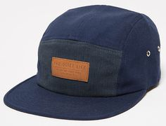 Blend 5 Panel Cap by THE QUIET LIFE