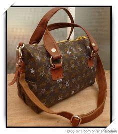 How to DIY Stylish Branded Boston Bag | www.FabArtDIY.com LIKE Us on Facebook ==> https://www.facebook.com/FabArtDIY