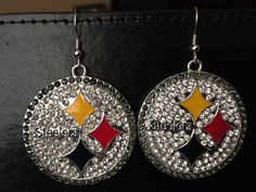 Spreesy is Joining the CommentSold Family! Pittsburgh Steelers Merchandise, Rhinestone Earrings, Drop Earrings, Steelers Gear, Selling On Pinterest, Shopping, Products, Drop Earring, Gadget