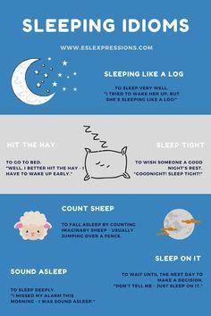 Sleeping idioms