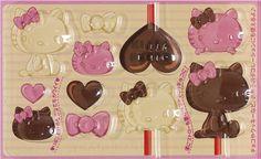 kawaii Hello Kitty chocolates mold from Japan