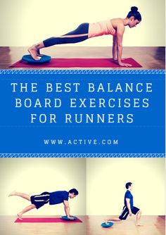 If you're like a lot of runners, you dread strength training. It can be boring, repetitive and involve way too many complicated machines. Yes, you'd far prefer to be plugging miles in the open air rather than gripping grimy dumbbells. - http://www.active.com/running/articles/the-best-balance-board-exercises-for-runners?cmp=-17N-60-S1-T3-D2-11172015-129