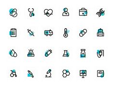 Medical Icons by CMARIX TechnoLabs on Dribbble icons Medical Icons Health Icon, Heart Rhythms, Medical Icon, Icon Design, Motion Logo, Timeline Infographic, Whiteboard, Line Icon, Inspiration