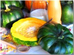 Milanese style pumpkin soup