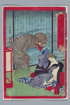 Osaka Nichinichi Shinbunshi, No. 13 (ca. 1875) This print shows a ...
