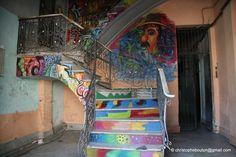 Havana - Cuba    Maybe use sidewalk chalk to do something like this????