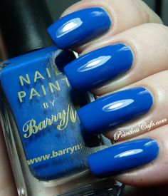 30 Day Challenge Day Five - BLUE with Barry M Cobalt Blue | Pointless Cafe