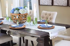 Ideas for you Spring table decor