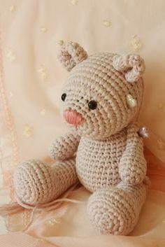 Pattern available soon...  Amigurumi creations by Laura: Tiny Amigurumi Bear Pattern in process