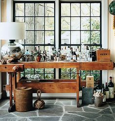Thom Felicia's Bar | via The Kitchn blog | House & Home