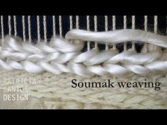 Soumak weaving - Weaving lessons for beginners, My Crafts and DIY Projects