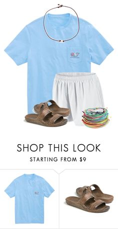 """Are these Jandals comfortable"" by flroasburn ❤ liked on Polyvore featuring Vineyard Vines, NIKE and Riah Fashion"