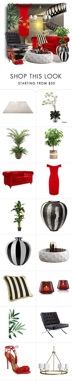 """""""My Fancy Apartment"""" by liddy-white ❤ liked on Polyvore featuring ESPRIT, Nearly Natural, NDI, Ballard Designs, Baccarat, Dot & Bo, Aquazzura and Williams-Sonoma"""