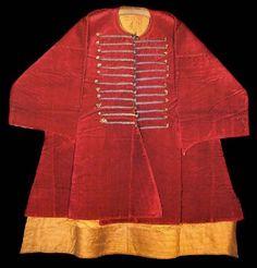 selim ii caftan | Ottoman Clothing And Garments, Short Caftan, Selim I The Terrible