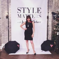 Geared up for #tscStyleMatters @theshoppingchannel Tune in for @walter_baker @ronwhiteshoes @natalie_belmont_tsc and mucho fun!