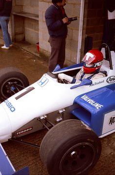 Mike Thackwell - Ralt RH6-84 Honda/Mugen - Ralt Racing Ltd - XXXVI International Tropy 1984