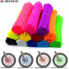 Material Type: rubberColor: set: High Quality RubberFitment: For Any Motorcycle Spokes The Processing time takes between days and delivery time weeks - depending on your location. Some Items could arrive within a week. Some small orders d Pink Dirt Bike, Dirt Bike Gear, Dirt Bike Racing, Dirt Bikes, Womens Motocross Gear, Dirt Bike Accessories, Pink Chevy, Ktm Exc, Off Road Wheels