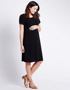 Maternity Crêpe Dress