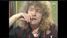 Robert Plant - interview on Norwegian television 1990