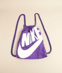 NIKE Heritage Gymsack purple