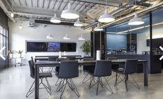 Clean, simple, classic and bright   http://www.inc.com/zoe-henry/ss/6-startup-design-trends-to-steal-for-your-own-office.html