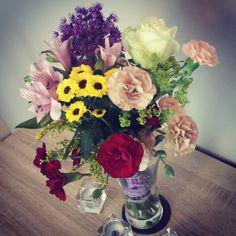 #Kwiatki #bukiet #różności #fullcolor #kocham  by paola161090