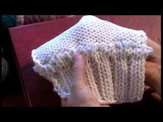 6-1 Трикотажные швы. Трикотажный кеттельный шов иглой. Как пришить воротник #knitting - YouTube