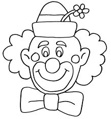 Clown Outline SVG, Clown Svg, Clown Clipart, Clown Files for Cricut, Clown Cu. Clown Crafts, Circus Crafts, Rock Crafts, Carnival Crafts, Circus Activities, 4 Year Old Activities, Art Drawings For Kids, Drawing For Kids, Valentines Day Heart Shaped Animals